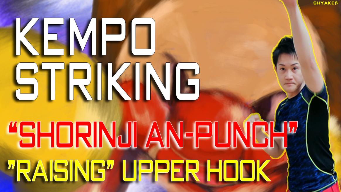 少林寺拳法のアッパー「アンパンチ(=上げ鉤突き)」の解説 | Kempo Striking